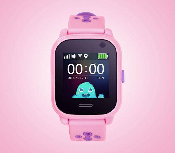 Pink kids tracker watch