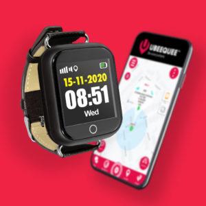 Watch tracker for dementia